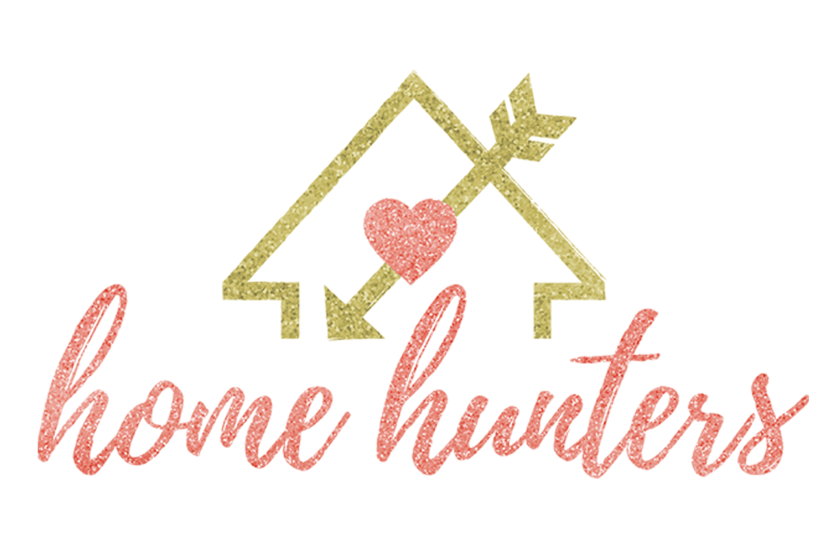 Home Hunters logo design