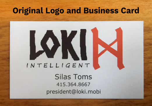 Original client-designed business card
