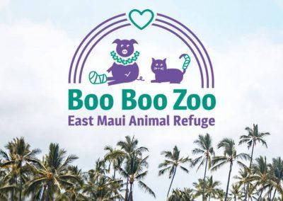 East Maui Animal Refuge Brand Identity