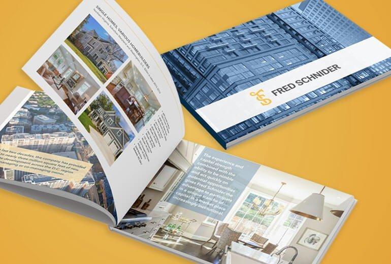 Fred Schnider Portfolio Book Project
