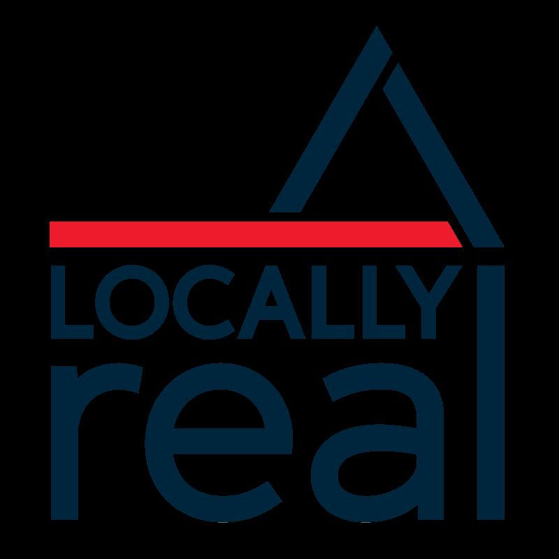 Locally Real logo design