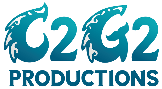 C2G2 Productions logo design