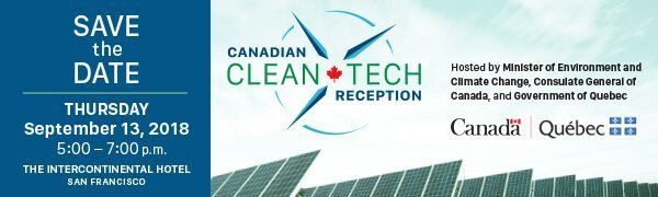 Canadian Clean Tech Reception save the date header