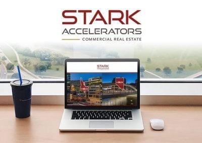Stark Accelerators Brand Identity + Website