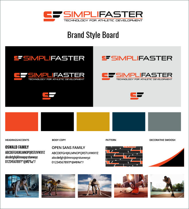 Simplifaster brand board