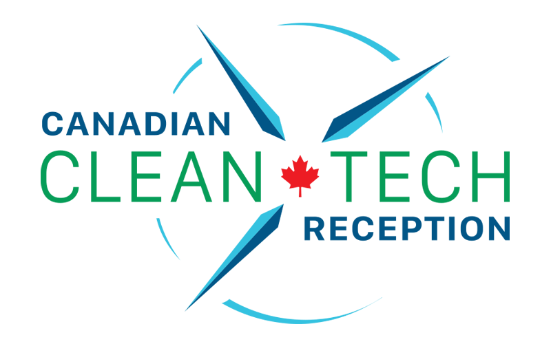 Canadian Clean Tech Reception logo design