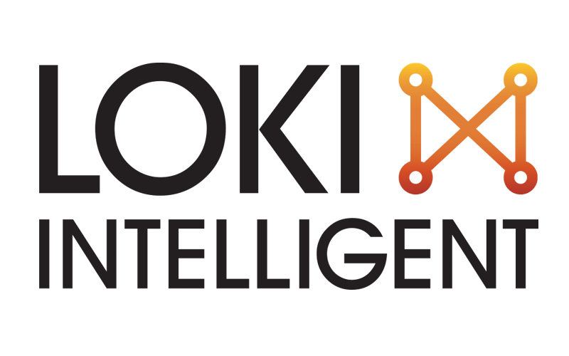 Loki Intelligent logo design