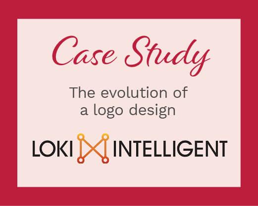 Case Study: The evolution of a logo design with Loki Intelligent logo