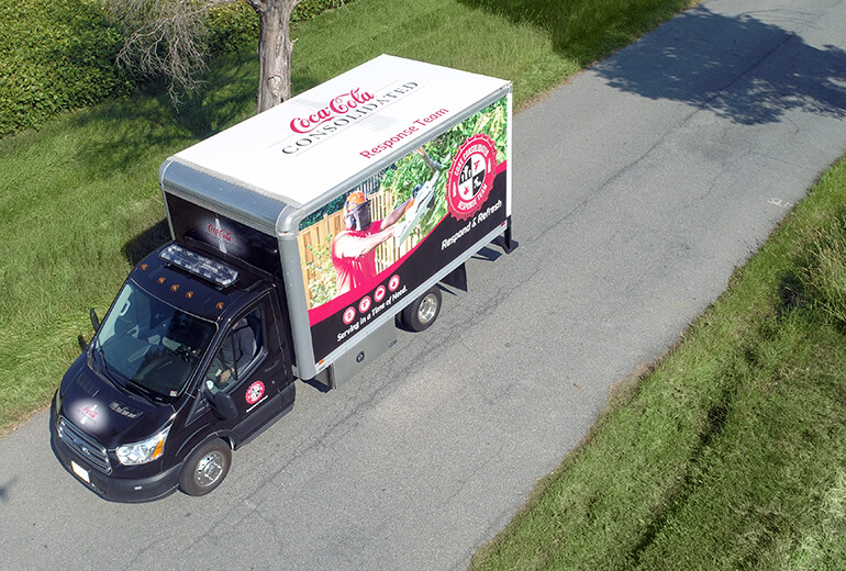 Coca-Cola Van Design